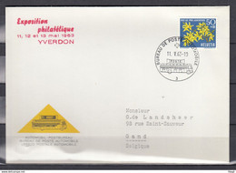 Brief Van Bureau De Poste Automobile Naar Gand - Briefe U. Dokumente