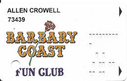 Barbary Coast Casino - Las Vegas, NV - Hard To Find 4th Issue Slot Card   .....[RSC]..... - Casino Cards