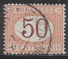 Italy 1870. Scott #J10 (U) Numeral Of Value - Strafport