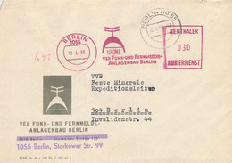 DDR Brief ZKD AFS RFT Funk Und Fernmeldeanlagenbau Berlin 1966 - Official
