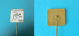 YUGOSLAV NOC For OLYMPIC GAMES LOS ANGELES 1984 - Old Enamel Pin Badge (White #1) * Jeux Olympiques Olympia Olimpiadi - Giochi Olimpici
