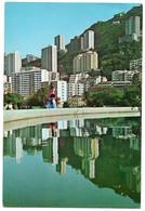 HONG KONG - BUILDING'S REFLECTION MID-LEVEL DISTRICT - 1969 - Cina (Hong Kong)