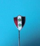 NOC United Arab Republic (UAR) For Olympic Games 1960 Rome - Old Enamel Pin Badge * Syria Egypt Jeuy Olympiques Olympia - Apparel, Souvenirs & Other