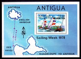 BARBUDA - 1978 SAILING WEEK MS FINE MNH ** SG MS407 - Barbuda (...-1981)