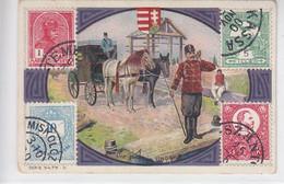 Elfenbein-Seife .... Post In Ungarn - Unclassified