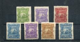Salvador 1891 Yt 37-41 43-44 * - El Salvador