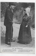 (RECTO / VERSO) FOLKLORE EN PERIGORD EN 1918 - N° 58 - COUPLE - CPA - Altri Comuni
