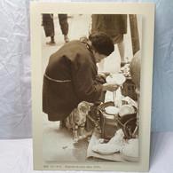 Old Woman And Her Cat 1950s, Hong Kong Postcard - Cina (Hong Kong)