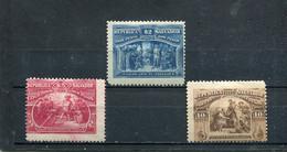 Salvador 1894 Yt 88-90 * - El Salvador
