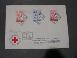 Red Cross , Cv. 1958 - FDC