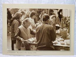 The Market At New Territory 1970s, Hong Kong Postcard - Cina (Hong Kong)