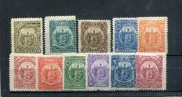 Salvador 1895 Yt 103-113 * - El Salvador
