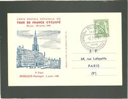 Tour De France Cyclist 1949  Bruxelles Boulogne  3e étape 2 Juillet 1949 - Ciclismo