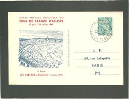 Tour De France Cyclist 1949  Rles Sables La Rochelle 7e étape 7 Juillet 1949 - Ciclismo