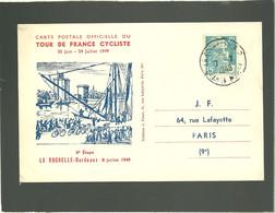 Tour De France Cyclist 1949  La Rochelle Bordeaux 8e étape 8 Juillet 1949 - Ciclismo