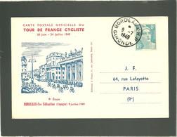 Tour De France Cyclist 1949 Bordeaux San Sebastien 9e étape 9 Juillet 1949 - Ciclismo