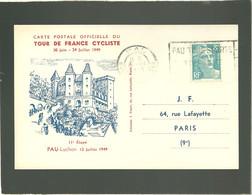 Tour De France Cyclist 1949 Pau Luchon 11e étape 12 Juillet 1949 - Ciclismo