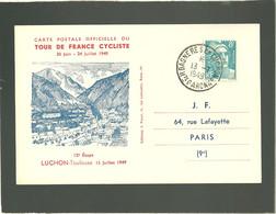 Tour De France Cyclist 1949 Luchon Toulouse 12e étape 13 Juillet 1949 - Ciclismo