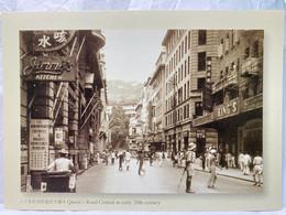 Queen's Road Central At Early 20th Century, Hong Kong Postcard - Cina (Hong Kong)