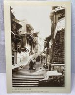 Stone Ladder Street At Central District Late 19th Century, Hong Kong Postcard - Cina (Hong Kong)