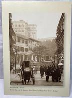 Before The War II Queen's Road West, Sai Ying Pun Bird's Bridge, Hong Kong Postcard - Cina (Hong Kong)