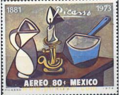 Ref. 182362 * MNH * - MEXICO. 1974. 1 ANNIVERSARY OF THE DEATH OF PABLO PICASSO . 1 ANIVERSARIO DE LA MUERTE DE PABLO PI - Unclassified