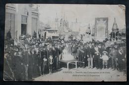 CPA Loire Atlantique - Nantes (44000) Arrivée Des Compagnons Et De Leurs Chefs-d'œuvre à L'Exposition – A.D. 294 – Animé - Nantes