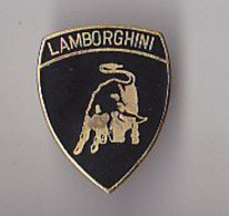 PIN'S  EN METAL   THEME   AUTOMOBILE  LOGO  LAMBORGHINI - Altri