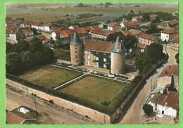 F0867  CP  MAILLY  (Meurthe Et Moselle)  Le Château  -  EN AVION AU-DESSUS DE  .....   ++++ - Andere Gemeenten