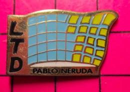 621 Pin's Pins / Beau Et Rare / THEME : ADMINISTRATIONS / LYCEE TECHNIQUE PABLO NERUDA - Amministrazioni