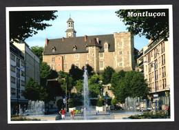 MONTLUCON (03 Allier) Nouvel Aménagement Place Piquand Avec Les Jeux D'eau (Editions Debaisieux ) - Montlucon