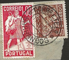 Timbre Portugal Belle Obliteration Barranoos - Used Stamps