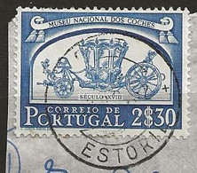 Timbre Portugal Belle Obliteration Estoril - Used Stamps