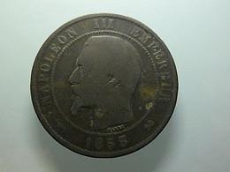 France 10 Centimes 1853 B - D. 10 Centimes