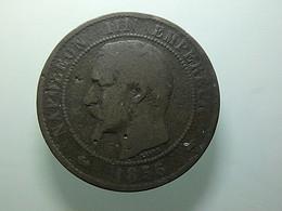 France 10 Centimes 1856 A - D. 10 Centimes