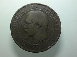 France 10 Centimes 1856 MA - D. 10 Centimes