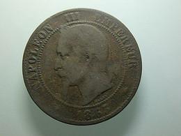 France 10 Centimes 1863 A - D. 10 Centimes