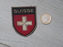 PATCH ECUSSON TOURISTIQUE. ANNEE 50-60. SUISSE. - Stoffabzeichen