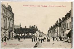 10 NOGENT Sur  SEINE      Théâtre Et Faubourg De Troyes - Nogent-sur-Seine