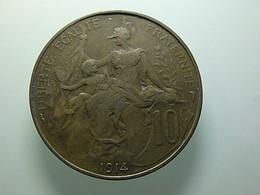 France 10 Centimes 1914 - D. 10 Centimes