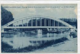 10 NOGENT Sur  SEINE      Pont Du Chemin De Fer .............. - Nogent-sur-Seine