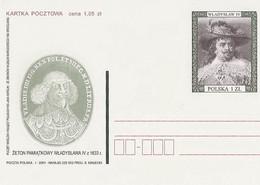 Poland Postcard Cp. 1243: Set Of Kings Wladyslaw IV - Postwaardestukken