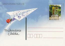 Poland Postcard Cp. 1249: Greetings From Afar - Postwaardestukken