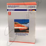 #VP117 - SNCF Guide Du Voyageur TGV Sud-Est - Une Nouvelle Gare à Massy Et De Nouvelles Relations TGV 1991 1992 - Europa