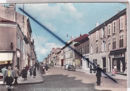Lunéville (54) Rue D'Alsace (belle Animation, Agent De Police Réglant La Circulation...)carte N° 24) - Luneville