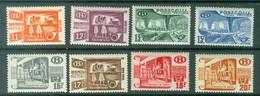Belgique   TR 322/329  *  TB - 1942-1951