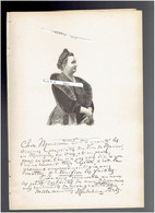 MADELEINE BRES 1842 BOUILLARGUES 1921 MONTROUGE MEDECIN PUERICULTURE PORTRAIT AUTOGRAPHE BIOGRAPHIE ALBUM MARIANI - Documenti Storici