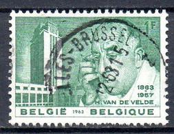 BELGIQUE. N°1270 Oblitéré De 1963. Architecte Henry Van De Velde. - Sonstige