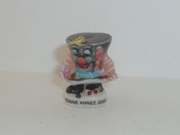 FEVE BONNE ANNEE 2000, CHAPEAU HAUT DE FORME - Andere
