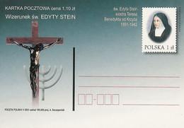 Poland Postcard Cp. 1257: Religion Edyta Stein - Postwaardestukken